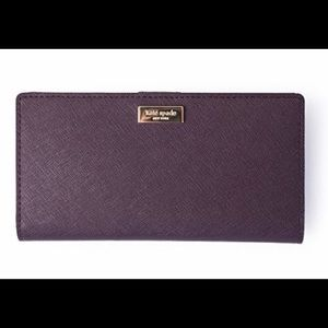 Purple Kate Spade wallet. In great condition